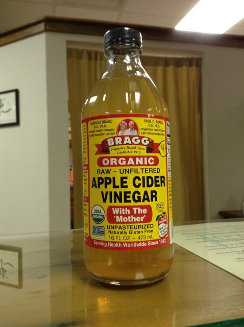 The Apple Cider Vinegar Cure?