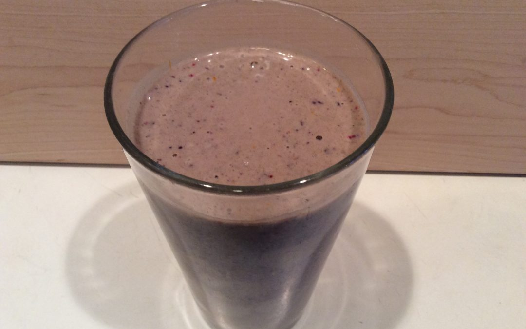 My Anticancer Smoothie Recipe